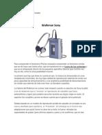 Historia Del Objeto - Walkman