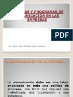 Sem. 11 Comunicacion en Las Empresas[1]