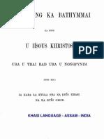 New Testament - Khasi Language