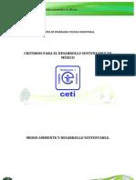Criterios Para El Desarrollo Sustentable en Mexico