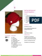 Redcap Buttoned Strap