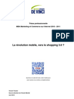 La révolution mobile, vers le shopping 3.0? Thèse MBA Vincent Tessier