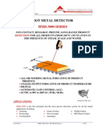 Hot Metal Detector Hmd-3000 Brochure