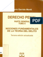 Derecho Penal Tomo II - Garrido Montt, Mario