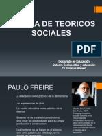 Galeria de Teoricos Sociales