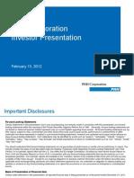 PHHInvestor Presentation February 13, 2012-1