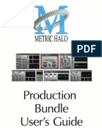Production Bundle Users Guide