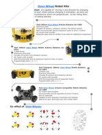Omni Wheel Robot Kits