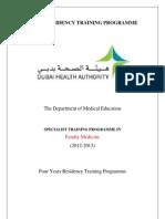 DRTP Family Medicine 2012