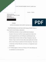 Brett Kimberlin's Motion for Hearing on Plaintiff's Motion to Unseal (OCR)
