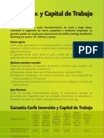 Inversion Capital de Trabajo