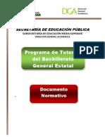 Programa Tutorias Documento Normativo