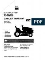 Craftsman Garden Tractor Manual