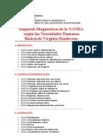 Etiquetas Diagnósticas de la NANDA