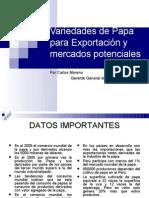 19 Varied a Des de Papa Para Exportacion y Mercados les Carlos Moreno