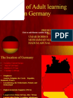 History of Adult Learning in Germany1