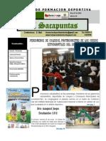 SACAPUNTAS 18 EDICION