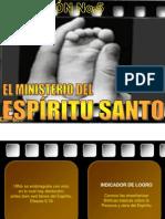 5 El ministerio del Espíritu Santo