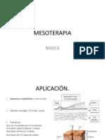 MESOTERAPIA CLASE