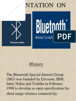 Bluetooth Presentation by Me