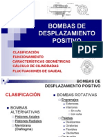 Bombas de Desplasamiento Positivo