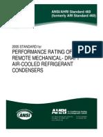 ANSI-AHRI-460-2005