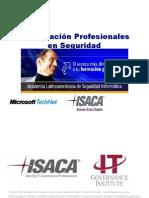 ISACA Certificaciones v1