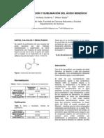 acido benzoico