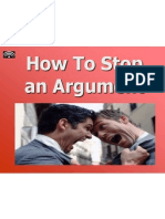 Arguements - To Stop