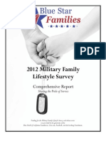 Blue Star Families 2012 Military Family Lifestyle Survey Comprehensive Report