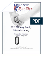 Blue Star Families 2012 Military Family Lifestyle Survey Executive Summary