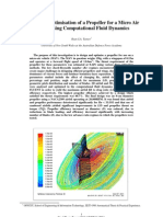 Design Nd Optimization Using Cfd