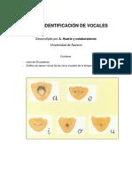 TEST DE IDENTIFICACIÓN DE VOCALES