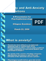 Anxiety and Anti-Anxiety Medications