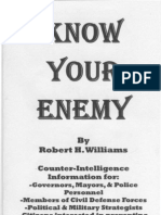 Know Your Enemy - Robert H. Williams