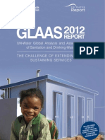 WHO Water and Sanitation Report 2012