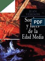 Jean Verdon - Sombras y Luces de La Edad Media