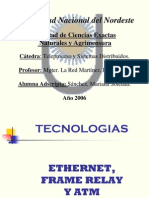 TECNOLOGIASETHERNET,FRAMERELAY