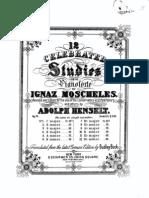 Moscheles 12.Etudes Op.70-I