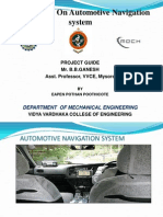 Automotive Navigation Systems Ppt