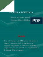 Ataxia y Distonia