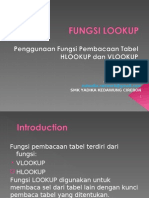 Excel Fungsi Lookup