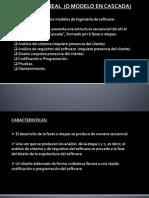 Modelo Cascada (Ing. Software)
