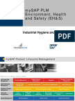 EH&S Industrial Hygiene E