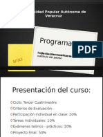 Presentación Programación I