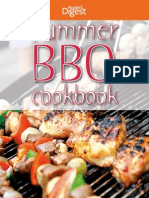 Summer Bbq Cookbook