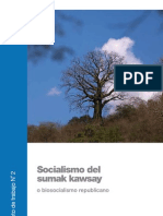 08 SOCIALISMO Del Sumak Kawsay