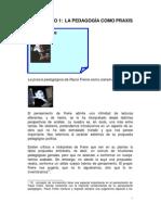 La Pedagogia Como Praxis - Paulo Freire
