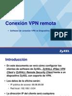 Technical Note ZyXEL VPN ZWvsSWClient