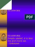 Teamwork Ppt